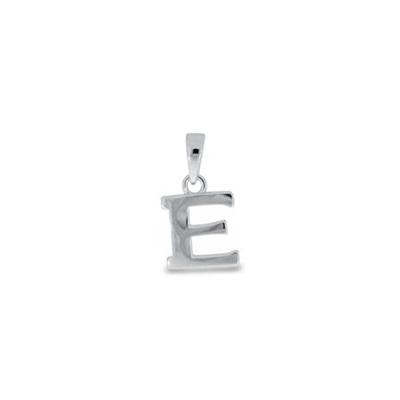 Anheng i sølv - E - leveres uten kjede
