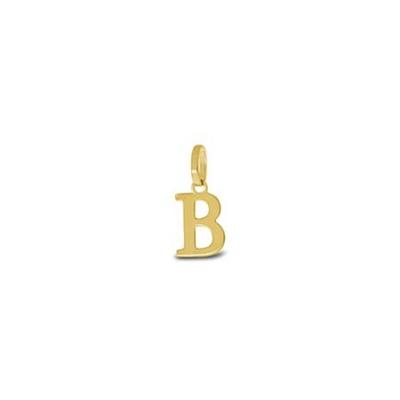 Gullbokstav - B - leveres uten kjede