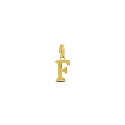 Gullbokstav - F - leveres uten kjede