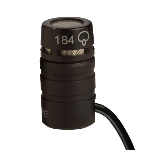 Shure MX184 lavalier condenser supercardioid