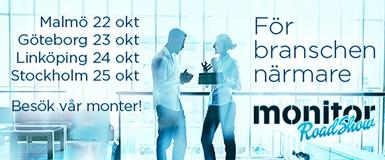 BENUM STÄLLER UT PÅ MONITOR ROADSHOW