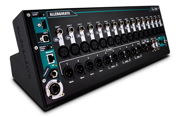 A&H Ultra Compact Digital Mixer/Stagebox