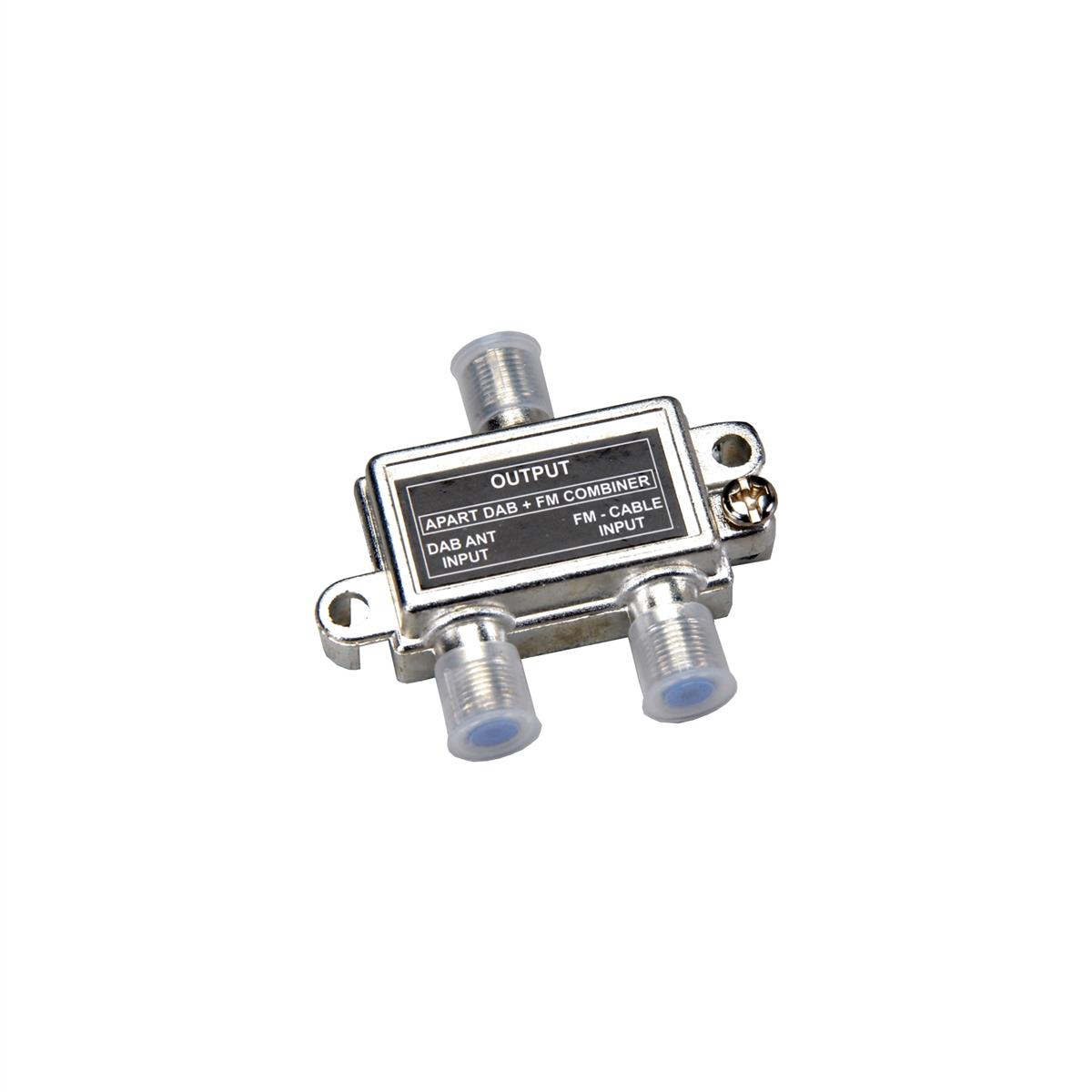Apart-combiner for DAB compatible tuners