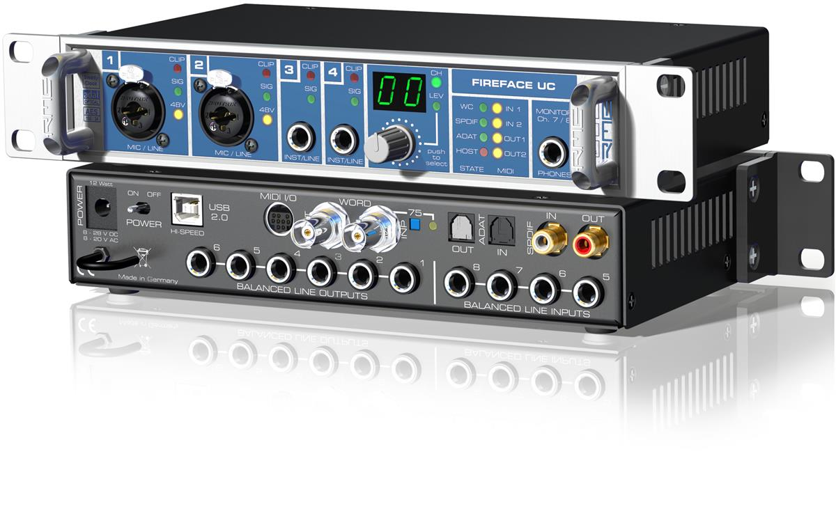 RME USB Audio Interface 36-channel, 192kHz