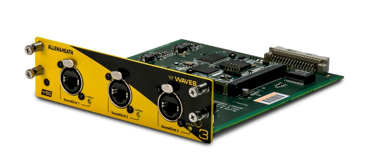 WAVES SoundGrid 128x128 96kHz interface module