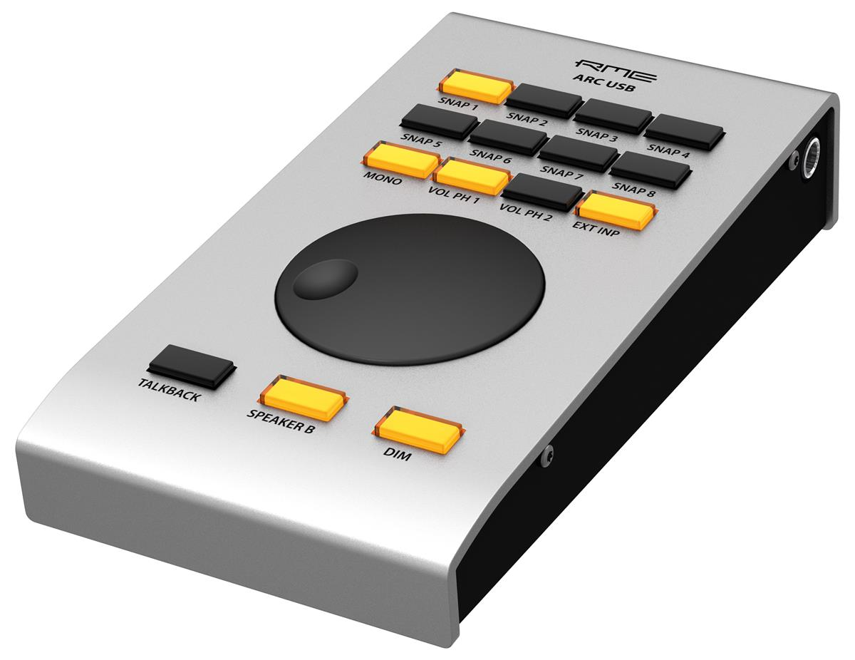 Remote Control for Fireface UFX+ and TotalMix FX