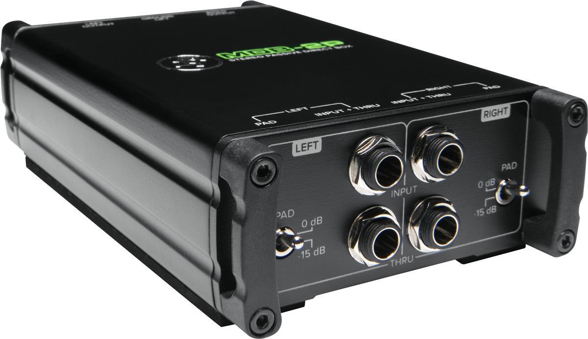 Mackie DI box stereo passiv