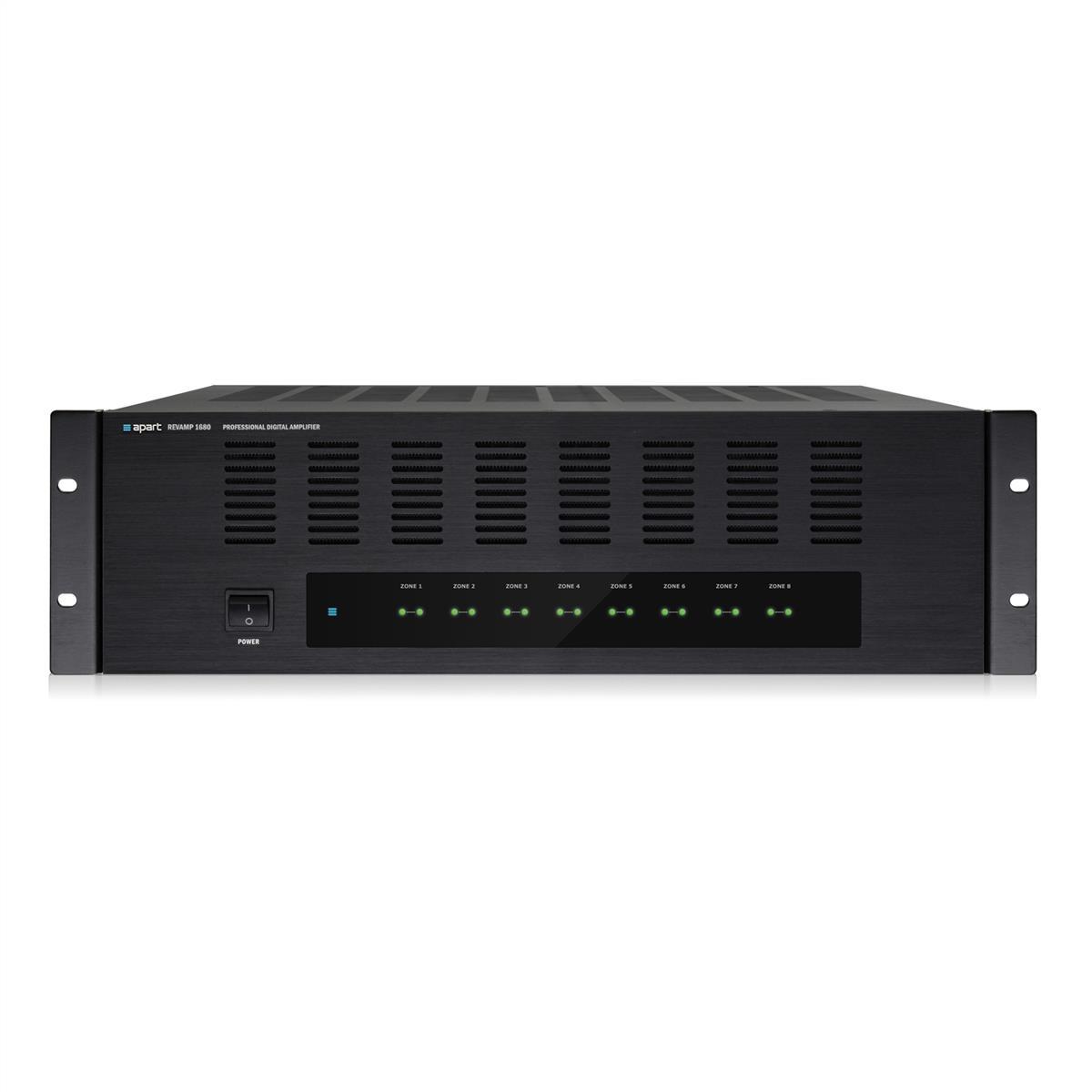 Apart 16 channel digital power amlifire 16x80W/4ohm rms