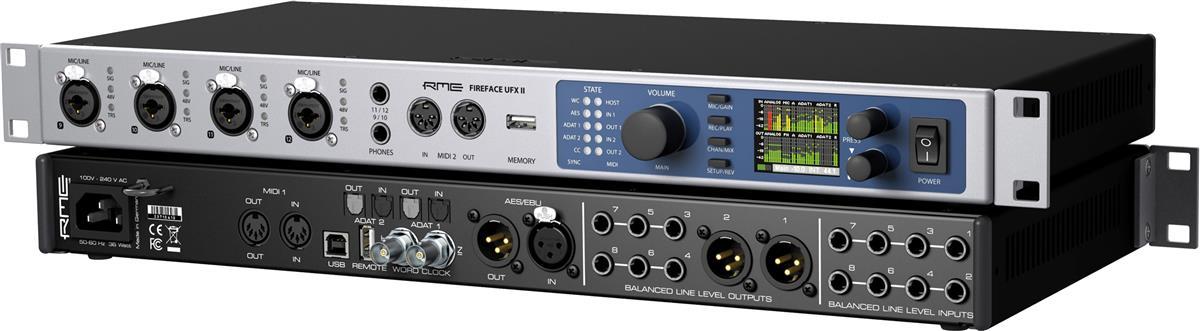 RME USB Audio Interface 60-channel, 192kHz