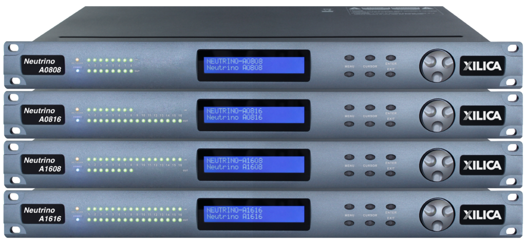 Xilica Neutrino Drag&Drop DSP 8inx16out w/Dante