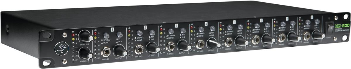 Mackie HM-800 Headphone Amplifier, 8-channel