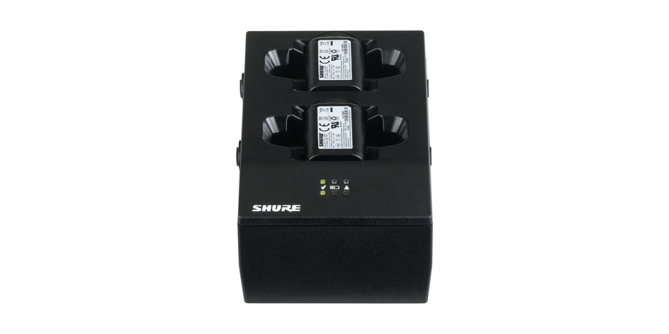 Shure SBC200-E Dual Docking Charger (with PSU)