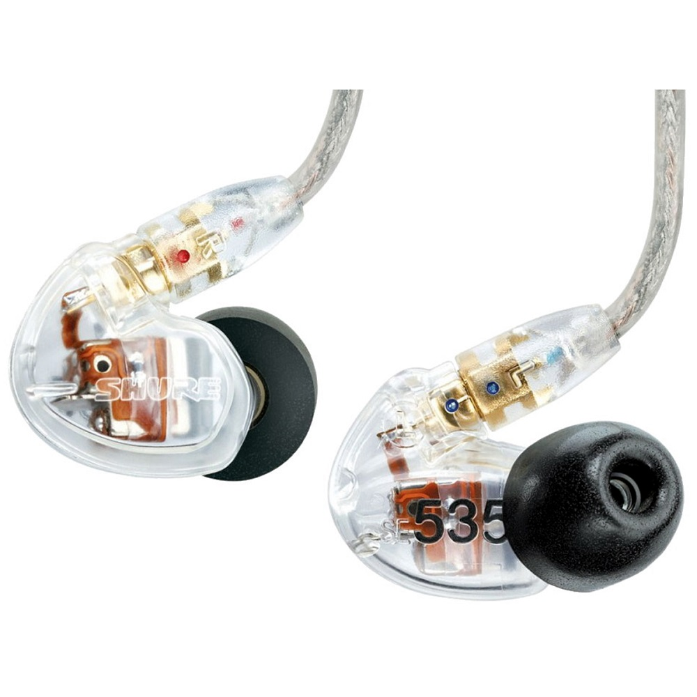 Shure SE535 Earphones EAC64 - CLEAR