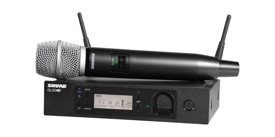 Shure GLXD24RE vokal system med SM86