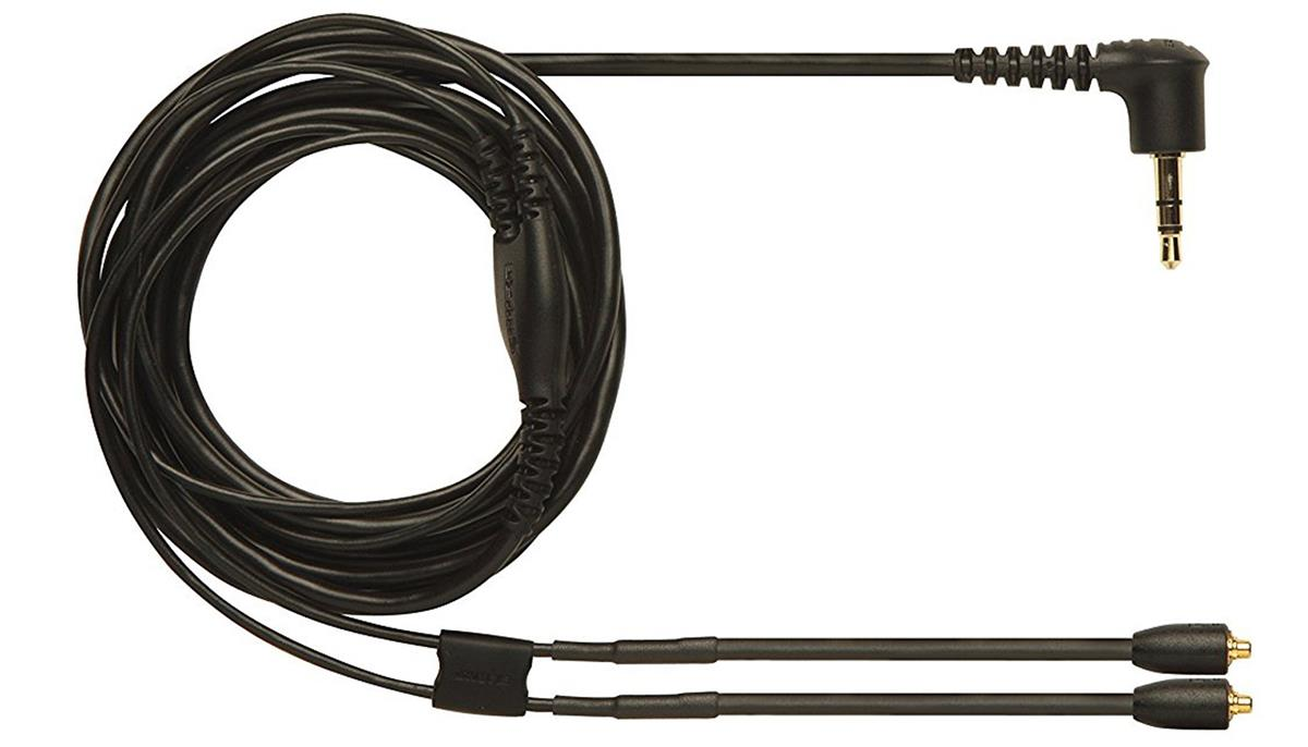 Shure EAC64BK replacement cable for SE Earphones Black