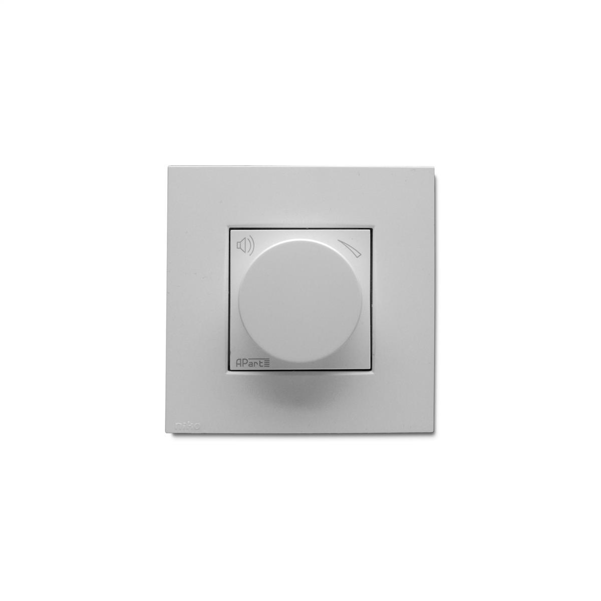 Apart 10 K-ohms volume control, white