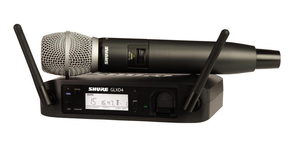 Shure GLXD24 vokal system med SM86
