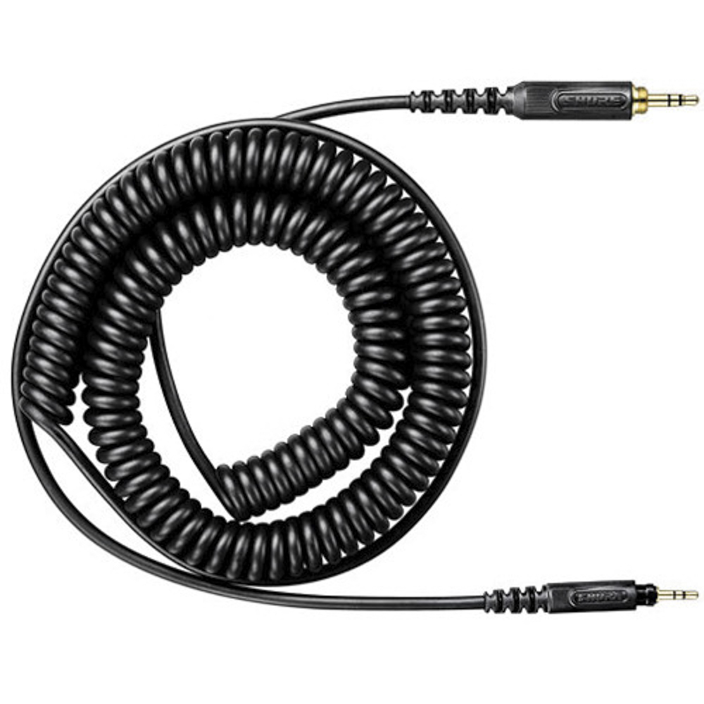 Shure HPACA1 curled cable SRH-440/840/750DJ