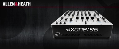 ALLEN & HEATH XONE:96 Analog DJ-Mixer