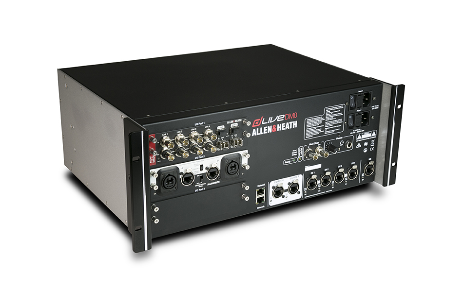 A&H dLive DM0 mixrack,ME-1,I/O port x 3, gACE,2 DX