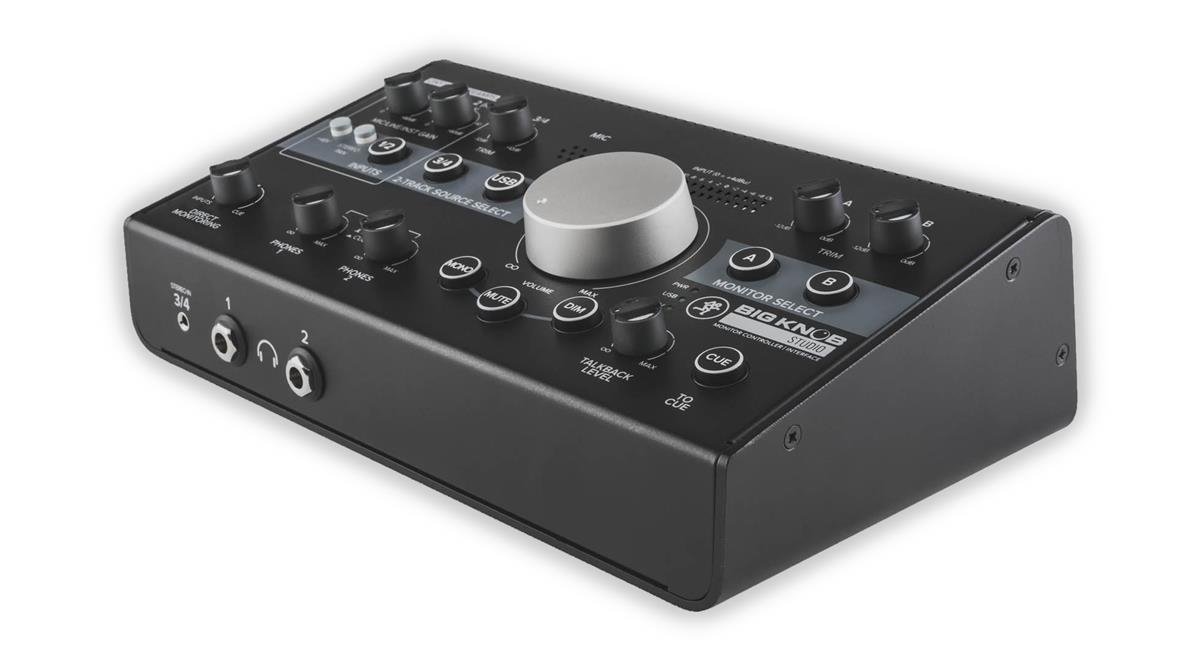 Mackie BigKnob, 3x2 studio monitor controller,96kHz, USB I/O