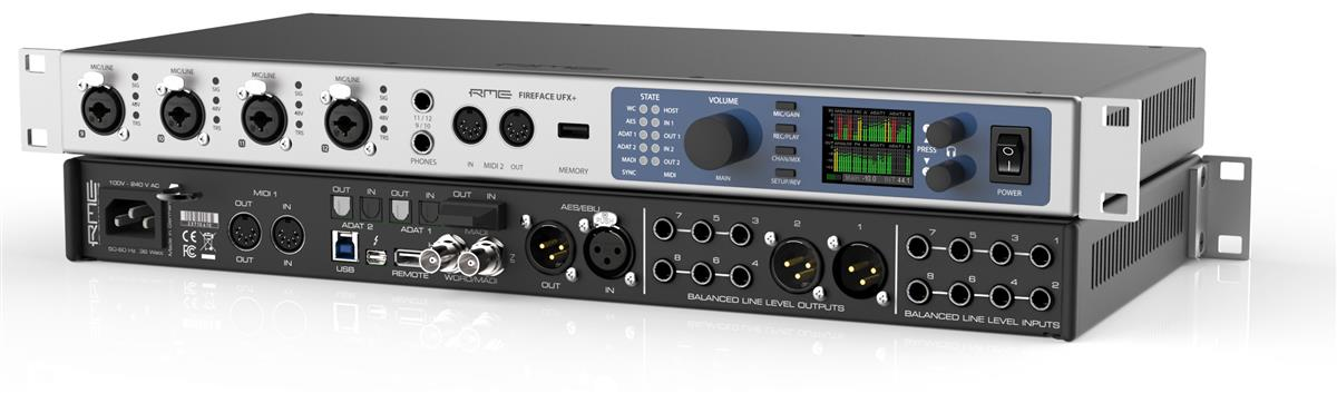 RME Thunderbolt & USB Audio Interface 188-channel, 192kHz