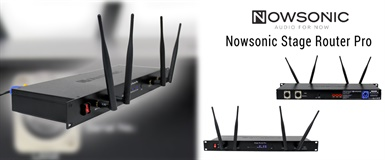 NYHET: NOWSONIC STAGE ROUTER PRO