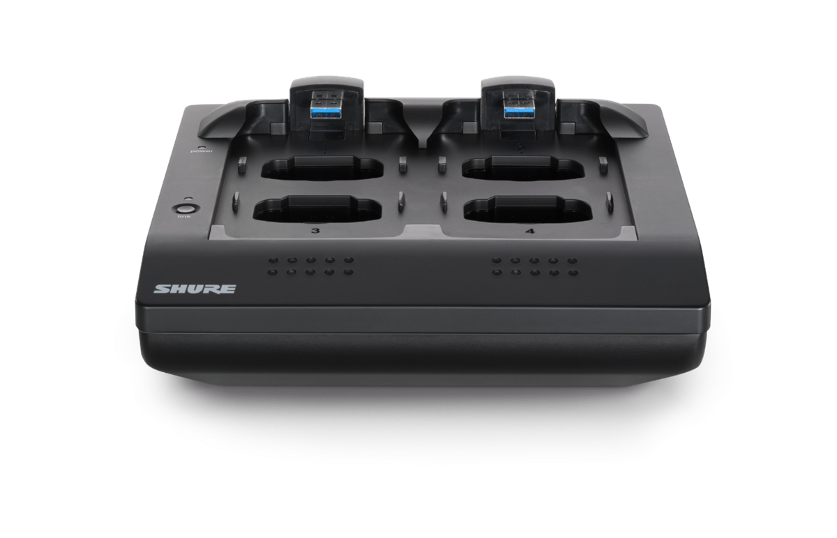 Shure MXWNCS 4-channel Networked Charging Station