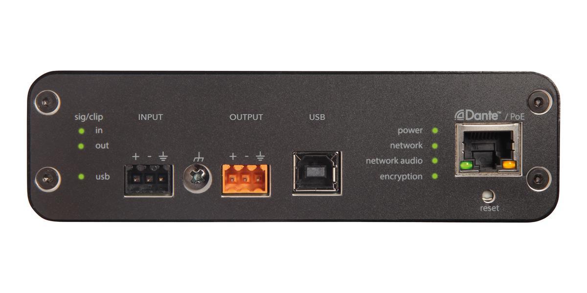 Shure ANIUSB USB Matrix Mix Dante Block