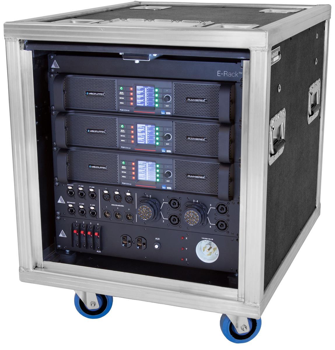 Adamson E-rack 12ch 1x PLMplus 20K44 2xPLM 12K44 Komplett