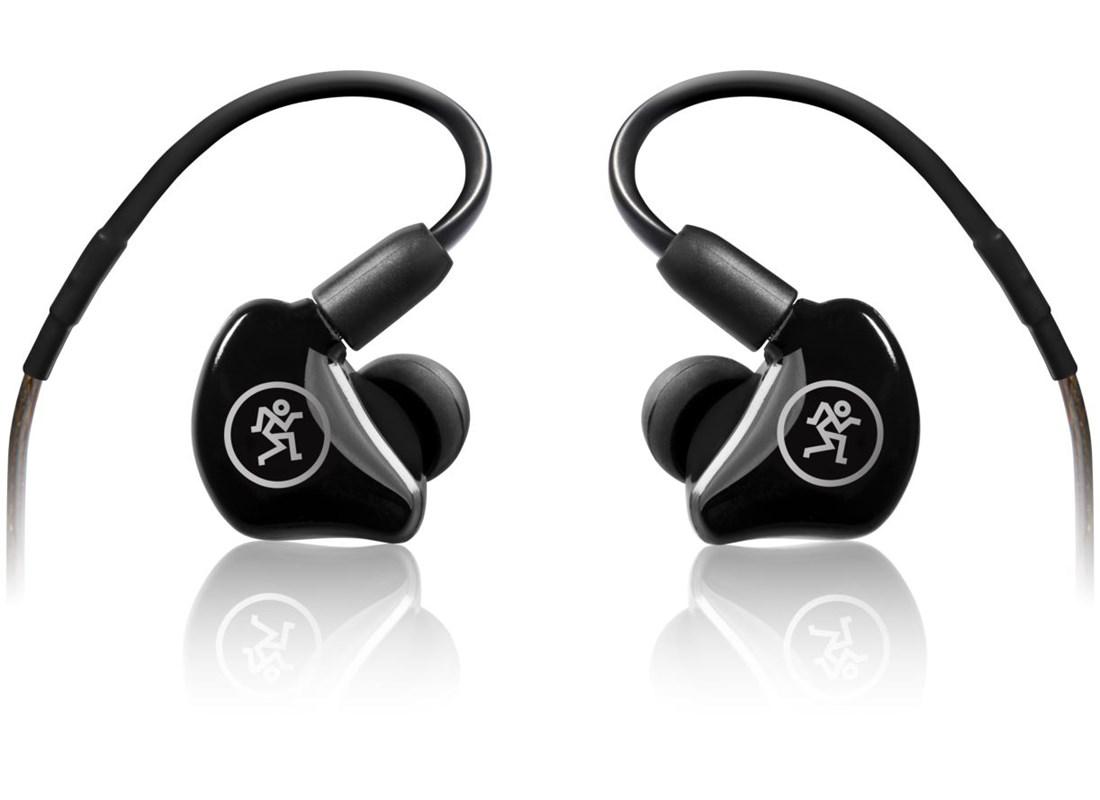 Mackie MP-220 In-Ear Monitors, black