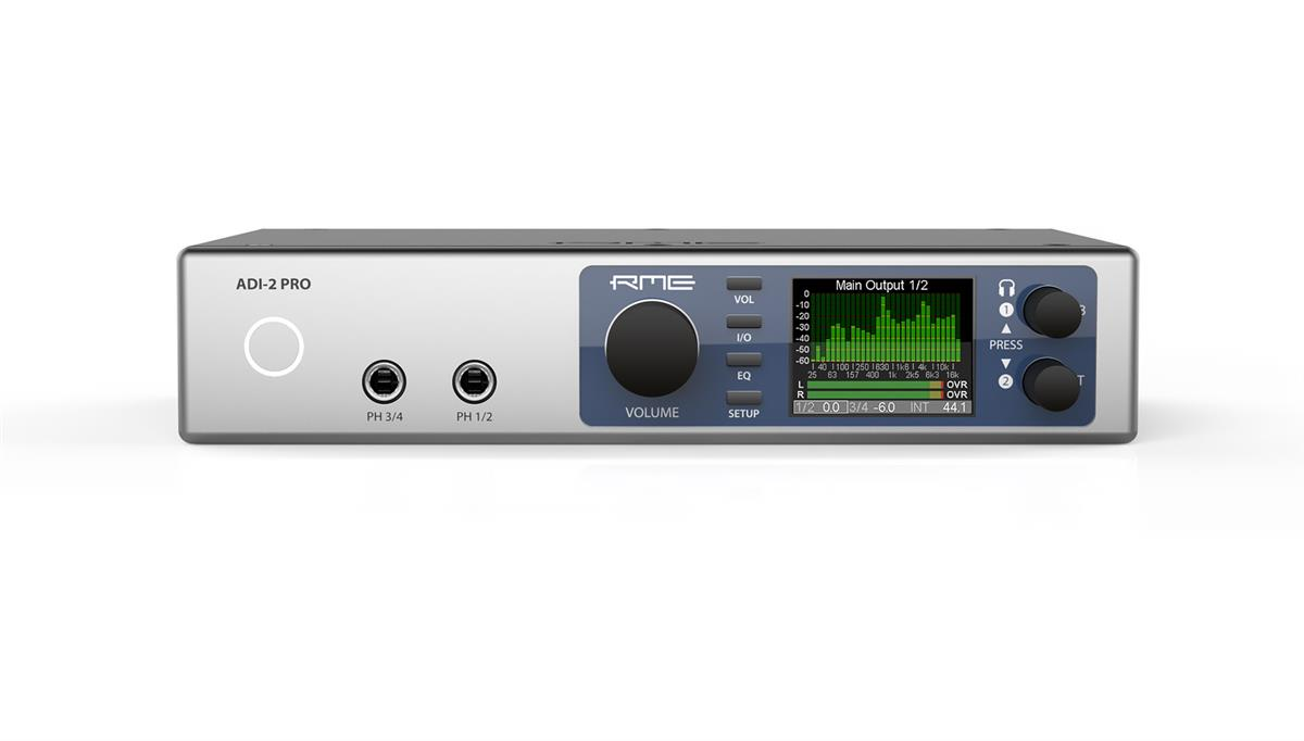 RME ADI-2 Pro FS AD/DA and Headphone amp, 768kHz