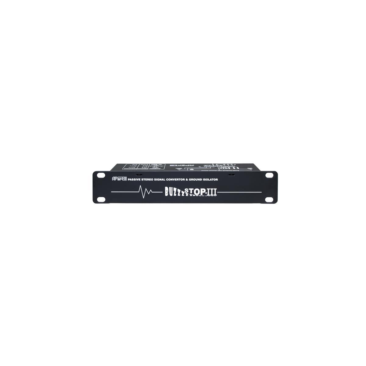 Apart BUZZSTOP MKIII Signal Convert. Isolator