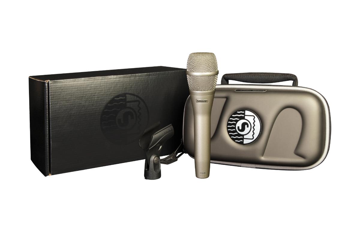 Shure KSM9SL Dual Pattern Condenser Vocal Mic Champagne