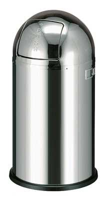 Wesco Pushboy Chroom.Nordic Hotelsupport Puch And Touch Bin Pushboy Wesco 50