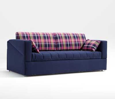 Cupe 3 seters sovesofa 224x90x90cm stoff Cat. A