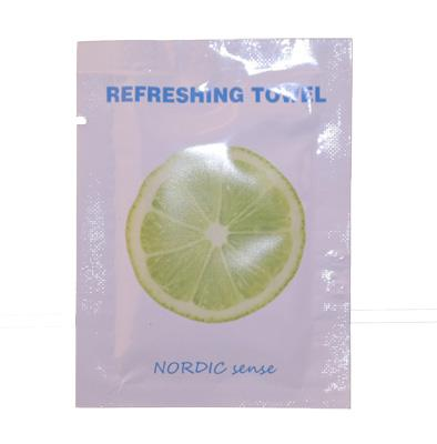 NORDIC sense Refreshing Towel LIME/1000 pcs