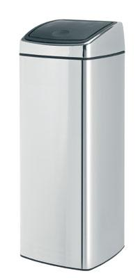 Brabantia Touch Bin 25 L Brilliant Steel