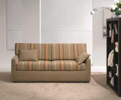 Small 3 seters sovesofa 183x80x88cm stoff Cat. A
