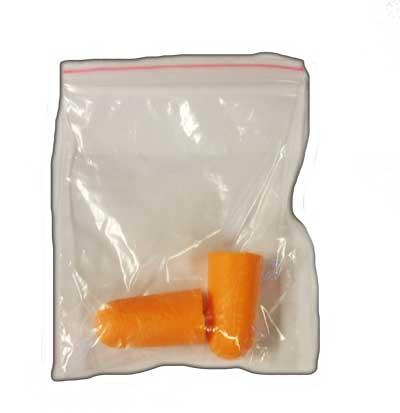 Ear plugs soft orange in carton/ 59901021/100 pcs