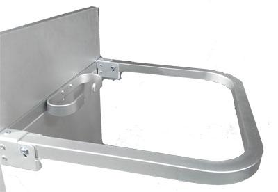 ME Broom holder/Hook Aluminium /1253012