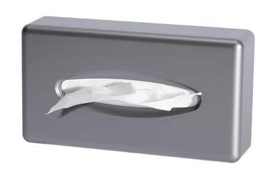 PA Nordic Kleenex dispenser KBDCV SATIN CHROME 255x140x65 mm