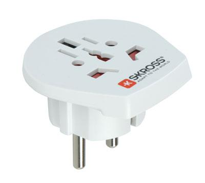Reise Adapter World to Europe