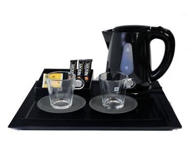 Nordic Large Kettle set of 4 pcs. in Black