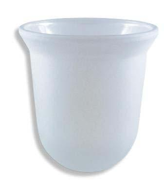 Glass bowel for toilet brush set 6133X 14499