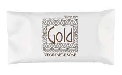 Gold Soap 12g flow pack vegan friendly  / 400