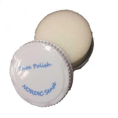 NORDIC Shoe shine sponge in box/100 pcs