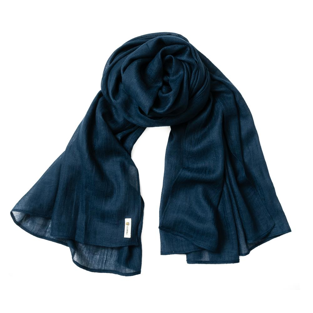 Scarf, small modal navy