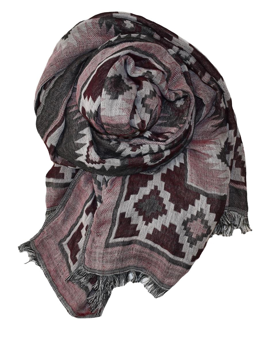 Scarf, jaquard woven stole