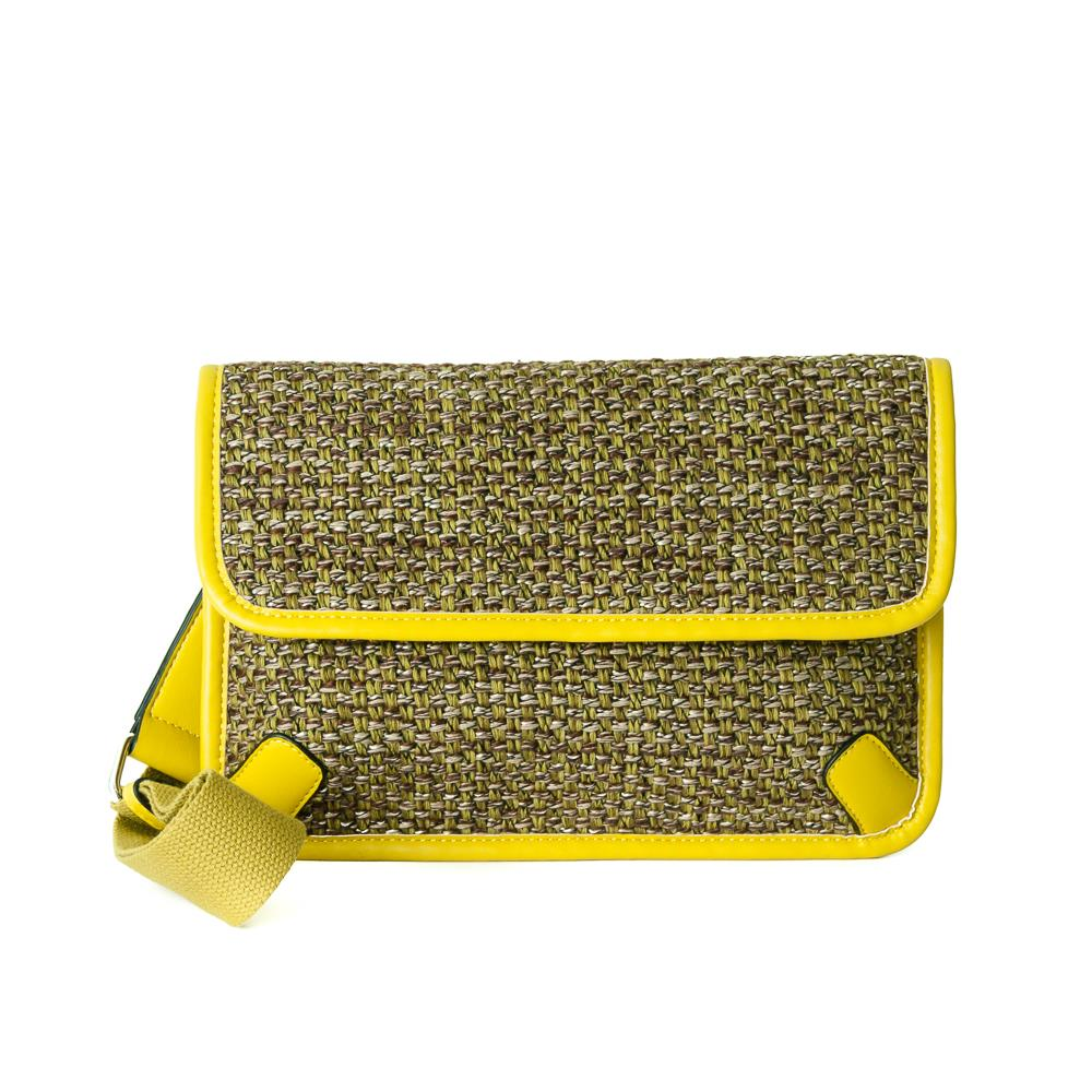 Bag, Tweed Cross olive
